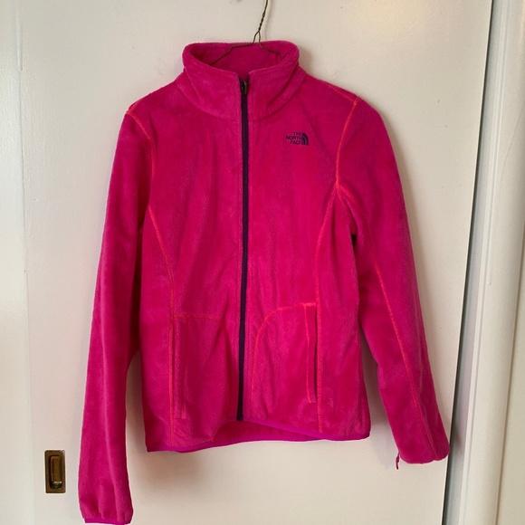 North Face Zip   Women's North Face Zip Jacket (S)